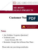2T - Customer Needs