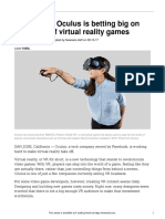 Oculus Gaming Money 33675 Article Only