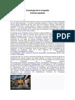 Cronología de La Conquista en Guatemala