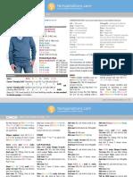10139217 Adult's Knit v Neck Pullover in Caron Downloadable PDF 2