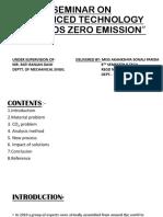 Zero Emission NEW