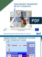 En 8 Urban Freight Transport and City Logistics Transparencies 6