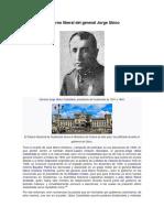 Gobierno Liberal del General Jorge Ubíco
