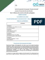 2019 SECUNDARIA Orientaciones Jornada 1