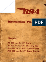 BSA instruction
