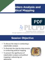 Stakeholder Analysis&PolMap
