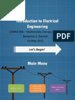 COMM486 - Benjamin Garrett - Introduction to Electrical Engineering
