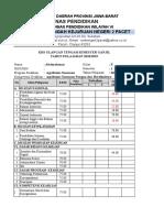 Format Khs Uts Ganjil Tahun 2018-2019