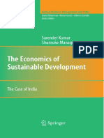 (Natural Resource Management and Policy 32) Shunsuke Managi, Surender Kumar (auth.) - The Economics of Sustainable Development_ The Case of India-Springer-Verlag New York (2009) (1).pdf