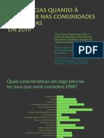 Pesquisa OSR - 2019