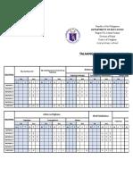 Phil-iri Oral (Eng &Fil) - Post Test