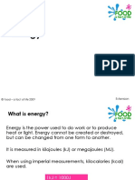 Food and Enery
