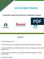 Electronics & Open Source _ Meetup 1 _2 Oct 2015