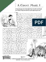 Giant Problem Activity Sheets