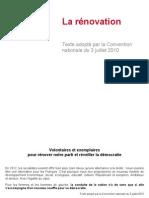 Suivez Et Commentez La Convention Nationale Sur La Renovation en Direct 28949