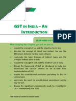GST an Intro