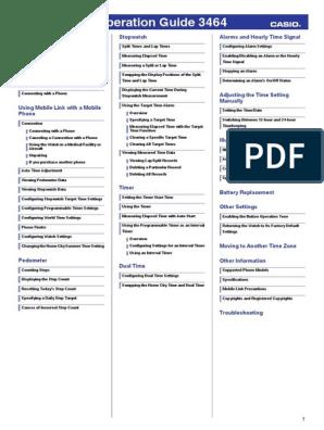 qw3464 pdf   Watch   Timer