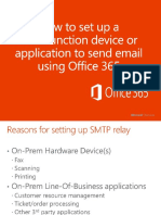 SMTP Relay in Office 365