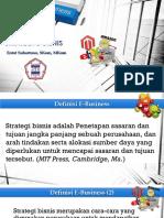 E-Business (3) Strategi E-Bisnis