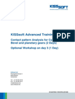 Contact Pattern Analysis Training Program