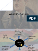 Was Hitler a Gay