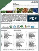A1 Oil India B2B Brochure
