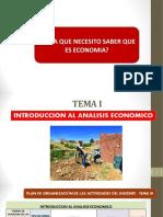 Tema 1... 1 Introduccion Al Analisis Economico