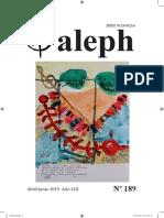 Aleph. Revista de Humanidades y Ciencia. Abril - Junio 2019. No. 189