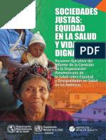 Sociedades justas Equidad en la salud y vida digna.pdf