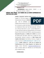 DEMANDA DE HABEAS CORPUS FRENTE A UNA RESOLUCION JUDICIAL Y CONEXO- OTRO-william serrano.doc