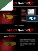 Mars Gaming. Gafas Mgl3. Ficha Es