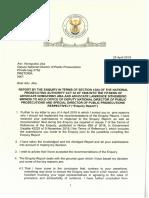 Letter to Adv Jiba