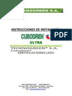 Instalación Cubodren Completa Ultra 26 Ton