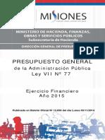 presupuesto General 2015.pdf