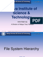 File System Structure-FHS