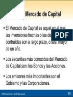 Que Es Mercado de Capitales