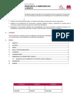 PROCEDIMIENTO DE RESPUESTA A EMERGENCIAS DE LABORATORIO METALURGICO (2018).docx