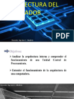 Clase 1 Arquitectura Del Procesador 3 Sept 2018