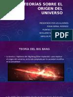 Teoría sobre el origen del universo
