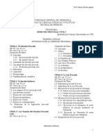 Programa Procesal Civil I