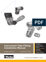 Instrument Tube Fitting Instalation Manual.PDF