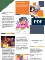 format leaflet