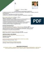 CV Marvin Patricio Olvera Valle