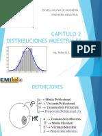 Cap 2. Distribuciones Muestrales v1