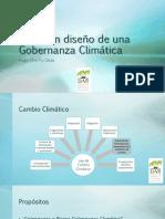 [PPT] Che Piu - Gobernanza Climática