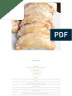 Peach Hand Pies - 100 Delicious