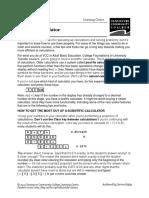 MathBasics-UsingACalculator