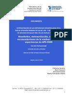 Sistematización Experiencias de Atención Primaria en Salud