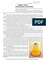 Information Sheets - Dasavatar (Ten Incarnations) - Buddha Avatara