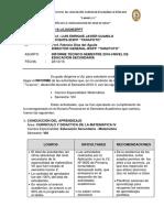 Informe Docente Secundaria Curriculo y Didactica IV